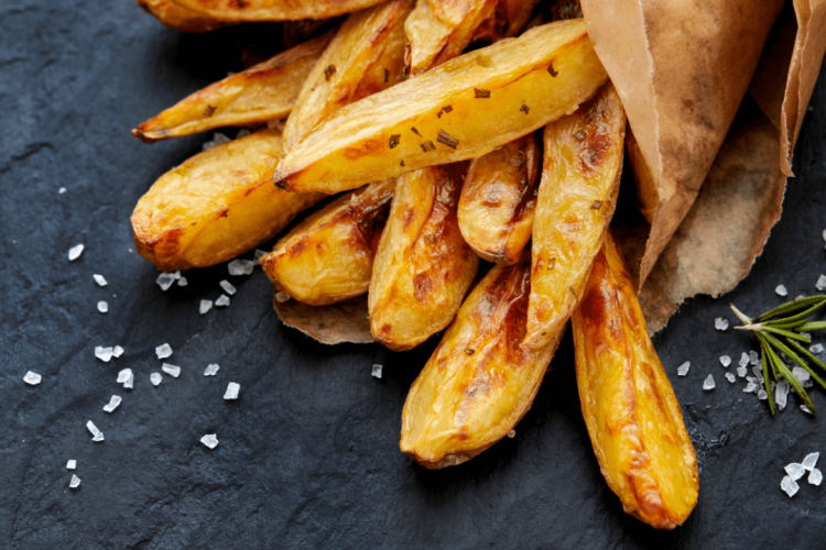 recipe for crispy potatoes in the oven
