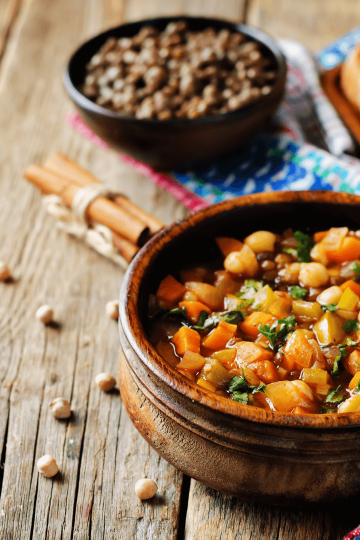 chickpeas soup recipe easy