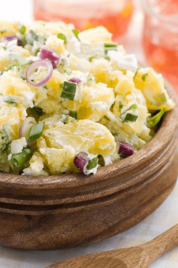 healthy potatoes salad recipe