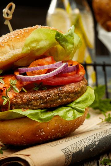healthy black beans burger recipe