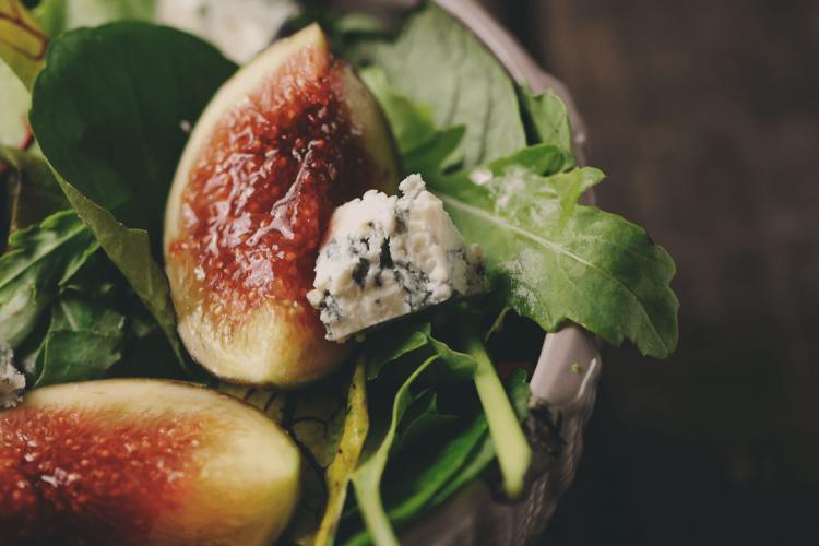 figs salad recipe with gorgonzola cheese