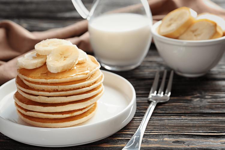banana pancakes healthy recipe