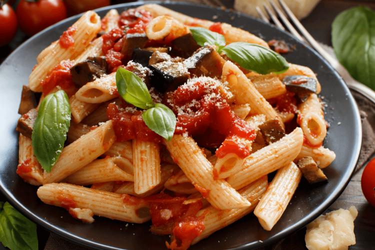 eggplants sauce for pasta ala norma recipe