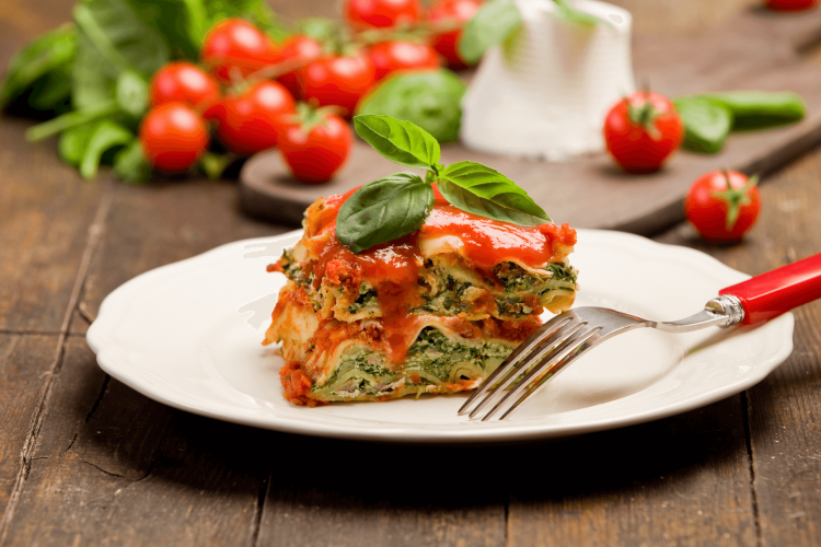 lasagna with spinach recipe