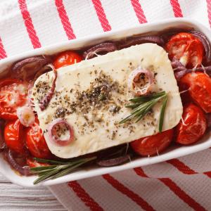 roasted greek salad